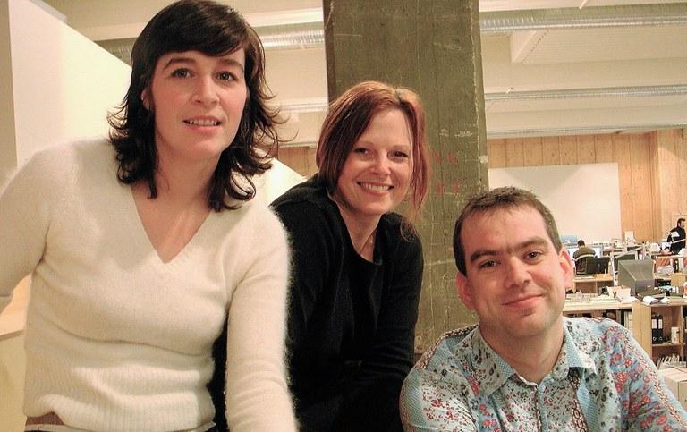 Eli Synnervåg, Astrid Renata Van Veen and Jim Dobson