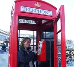 Gwladys Fouché in phoneboth
