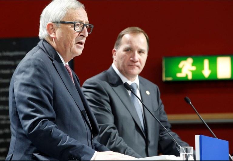 Juncker, Löfven