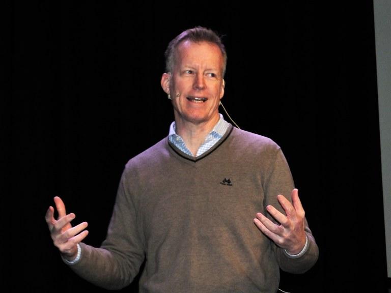 Curt Rice speaking