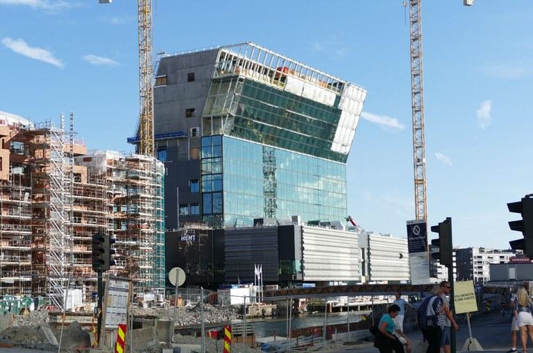 Munch Museum construction