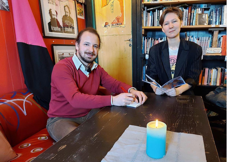 Eivind Rindal and Kaja Colin Borgersen Bojer