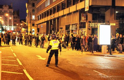Riots highlight Manchester's unemployed underclass
