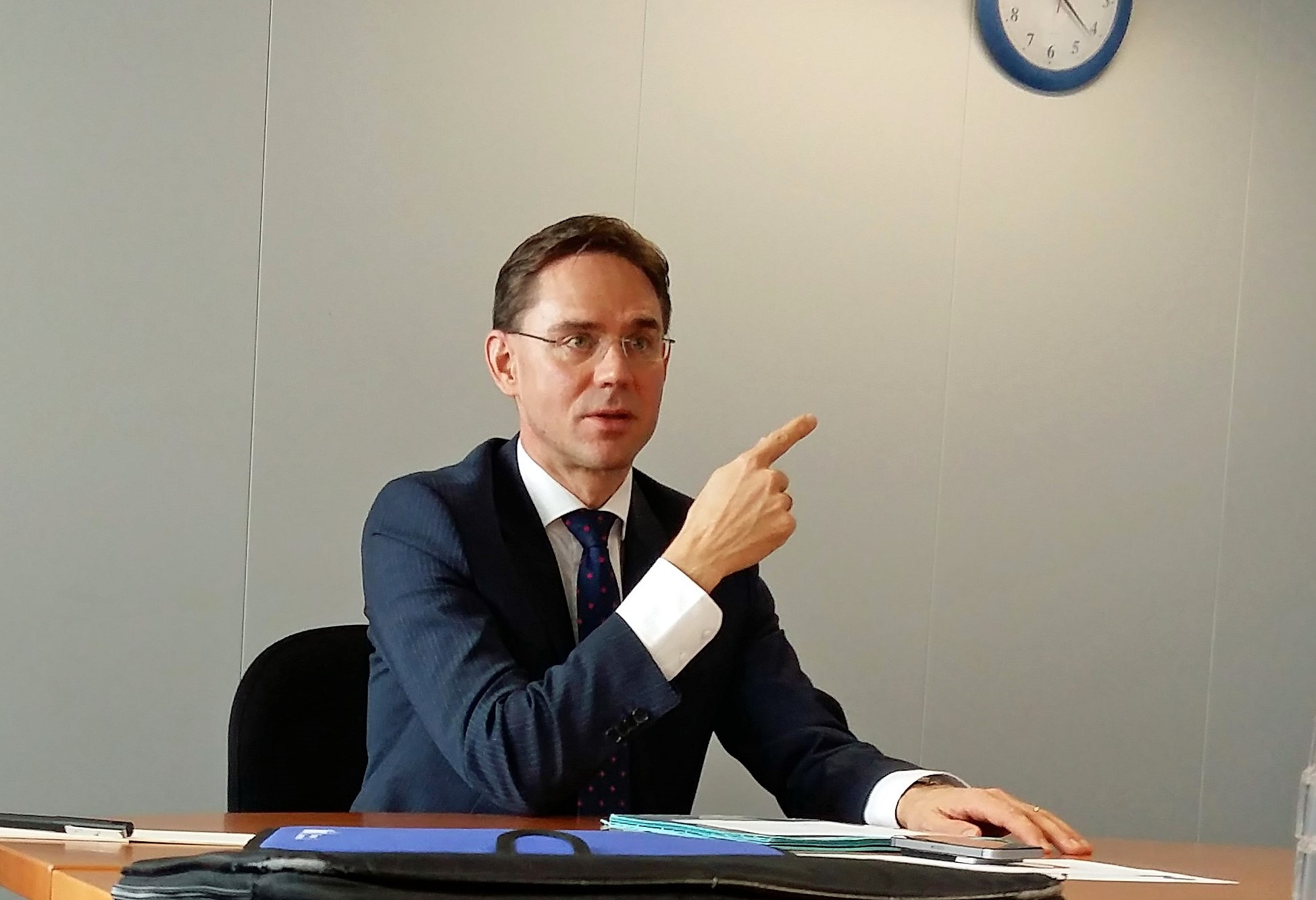 Jyrki Katainen: Populism threatens stability and risks increasing unemployment