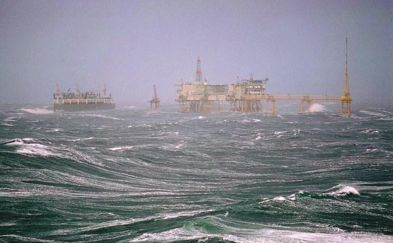 The North Sea Diver – working under pressure