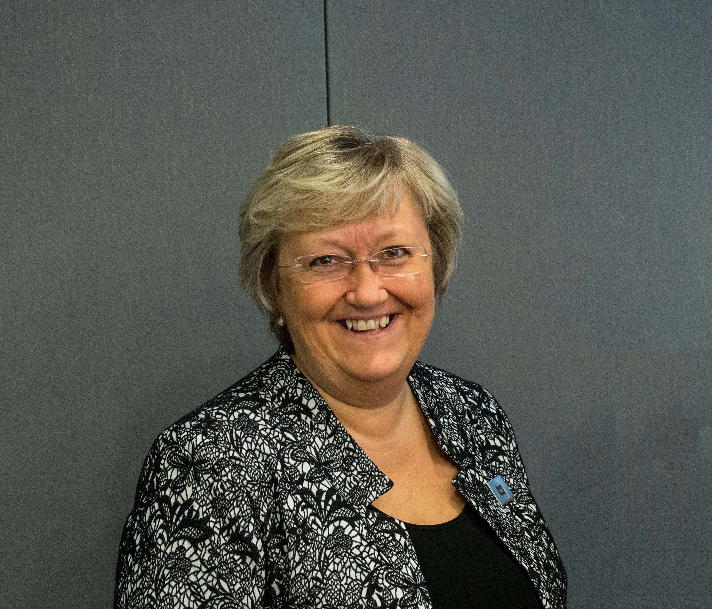 Elisabeth Vik Aspaker, the government minister in charge of Nordic cooperation in 2017