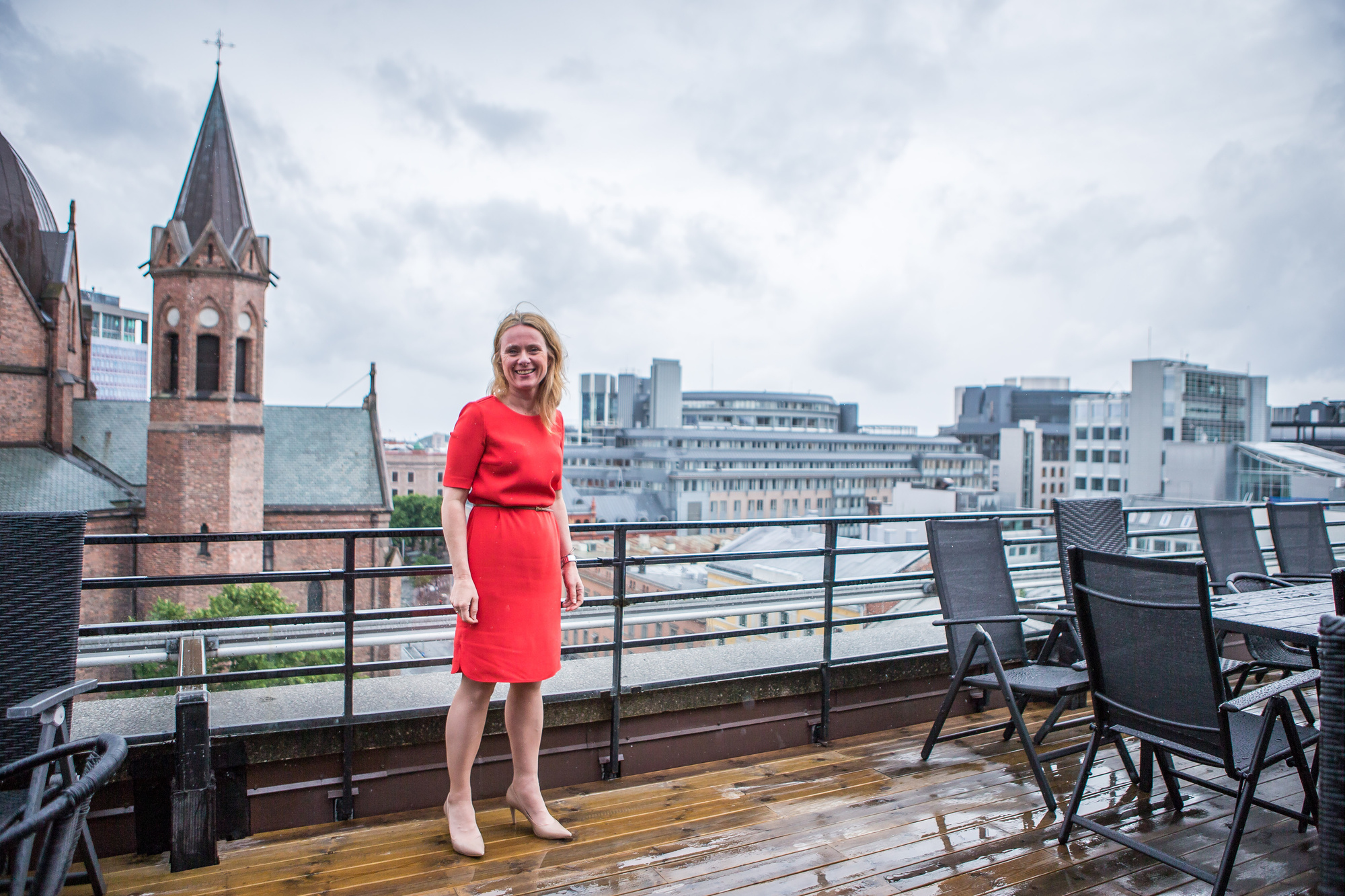 Norway's Minister of Labour Anniken Hauglie is passionate about social entrepreneurship