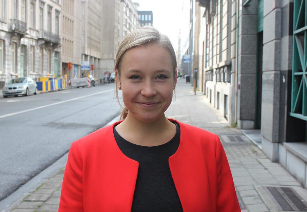 Matilda af Hällström, entrepreneurial Nordic Council lobbyist in Brussels