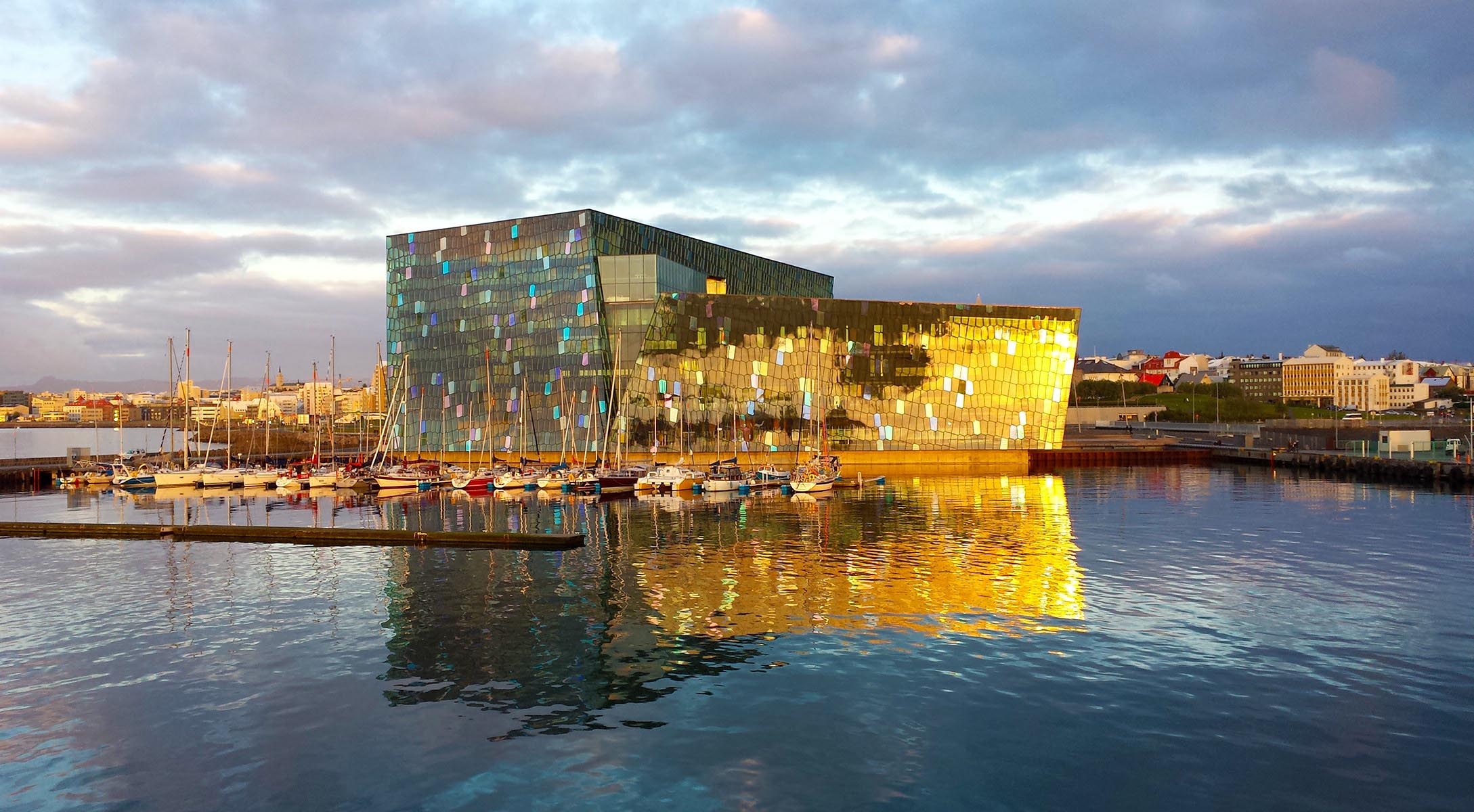 Harpa in Reykjavik: Iceland's symbol of recovery