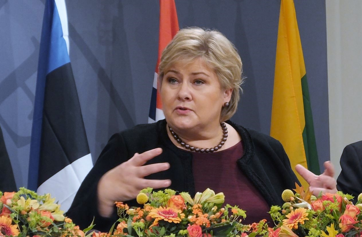Åland's Britt Lundberg and Norway's Erna Solberg sharpen Nordic cooperation in 2017