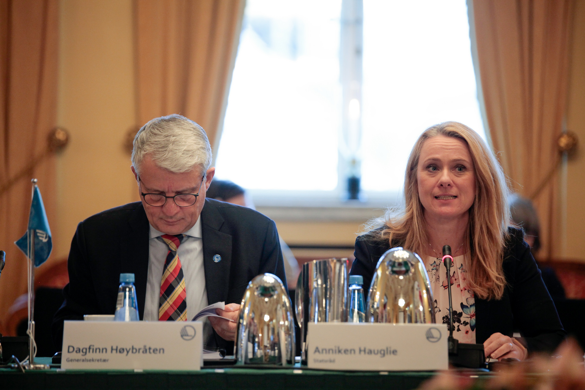 Anniken Hauglie at the Nordic council of ministers - changing focus on working environments