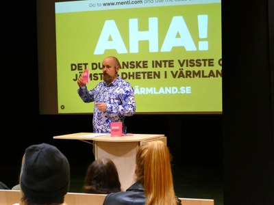 Humor is a tool for gender equality in Värmland