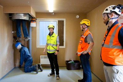 Finnish safety training park makes workplace risks more visible