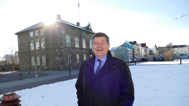 ILO's DG Guy Ryder finds inspiration from problem-solving Iceland