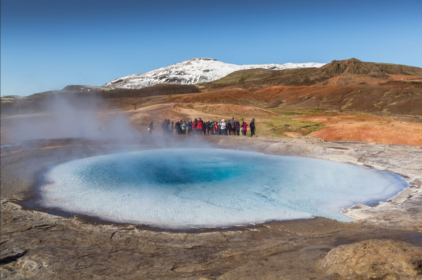Iceland's tourism becomes a hot environmental topic