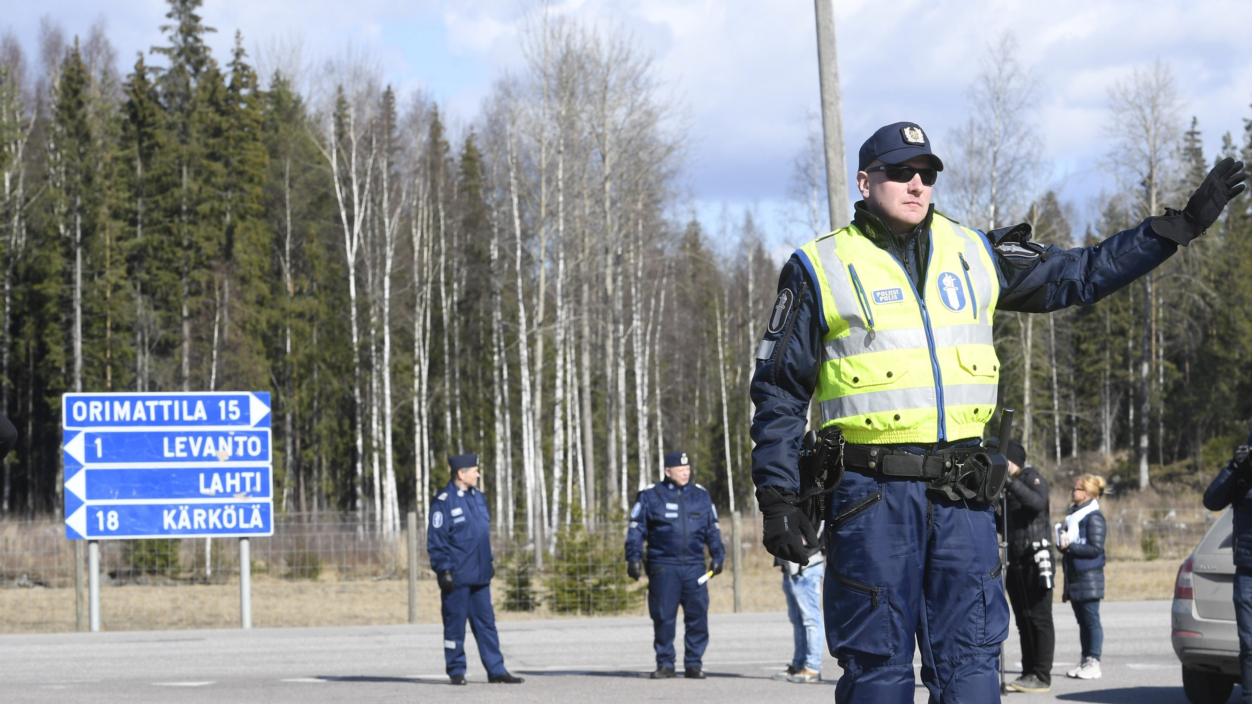 Freedom of movement sacrified to protect Finnish population