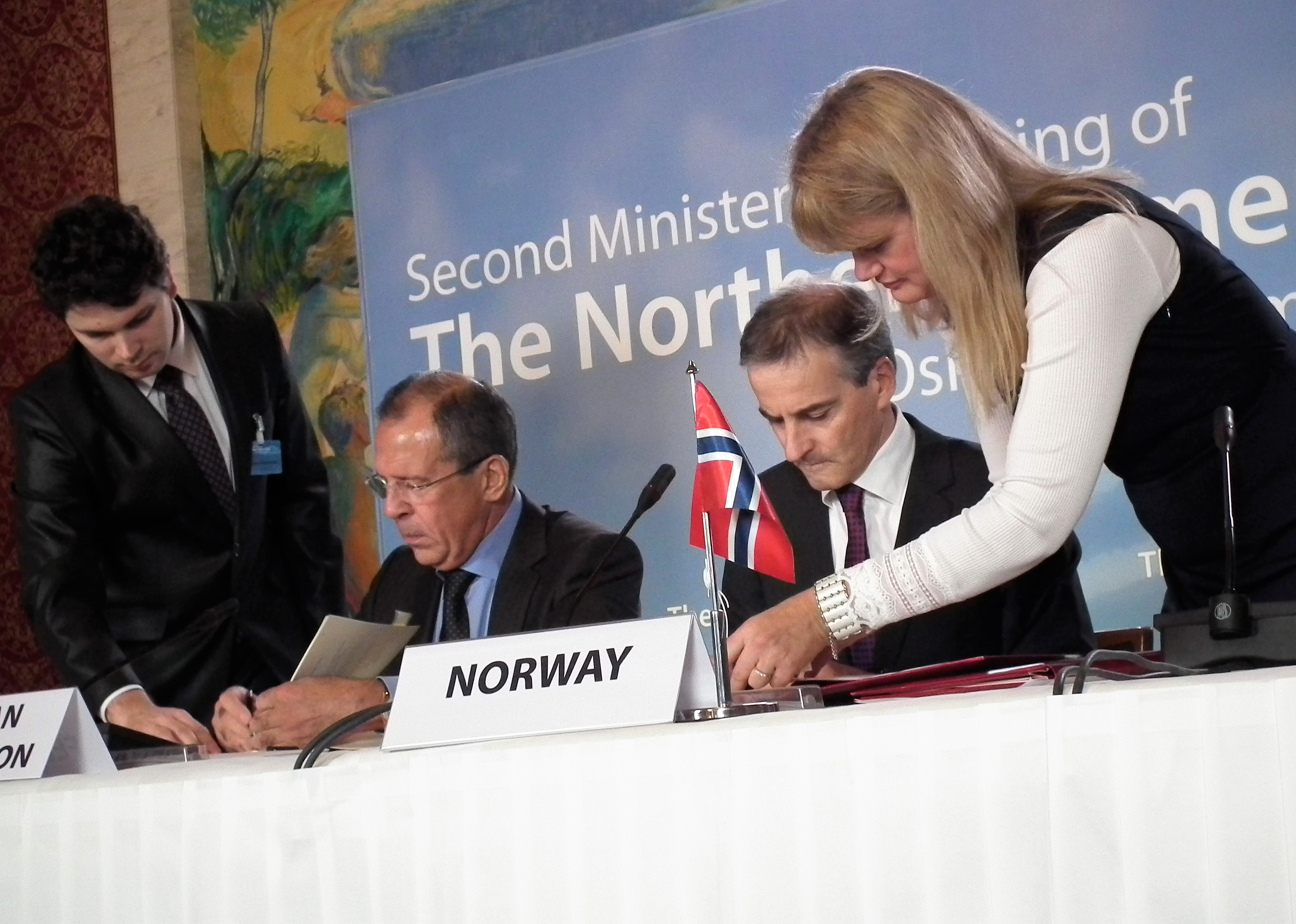 FMs Lavrov and Støre call border agreement small yet important