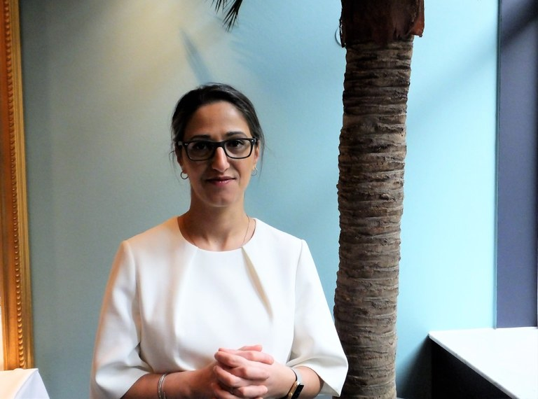 Palestinian, woman, dyslexic – and successful businessperson in Iceland