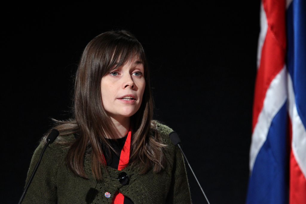 Katrín Jakobsdóttir tipped as Iceland's new Prime Minister