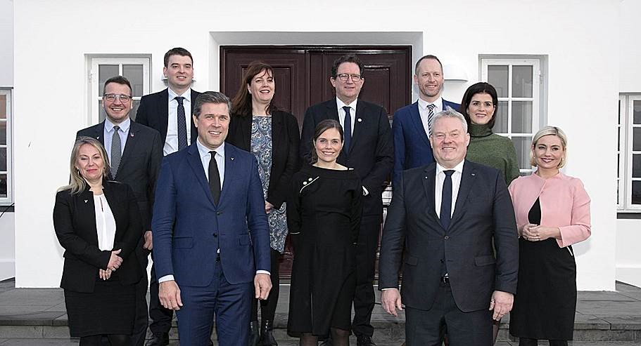 Three party coalition in Iceland: Tough tasks for new minister